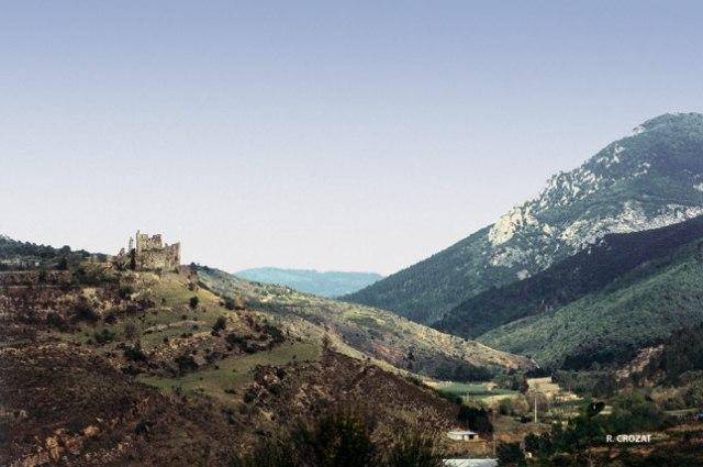 chateau de Coustausssa