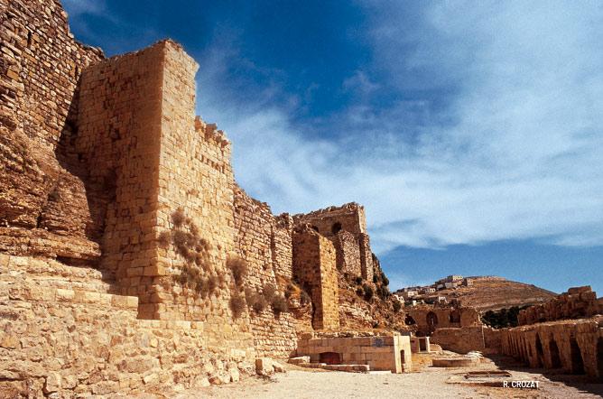 Krac de Moab kerac Jordanie