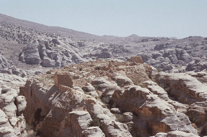Petra jordanie, El Weira